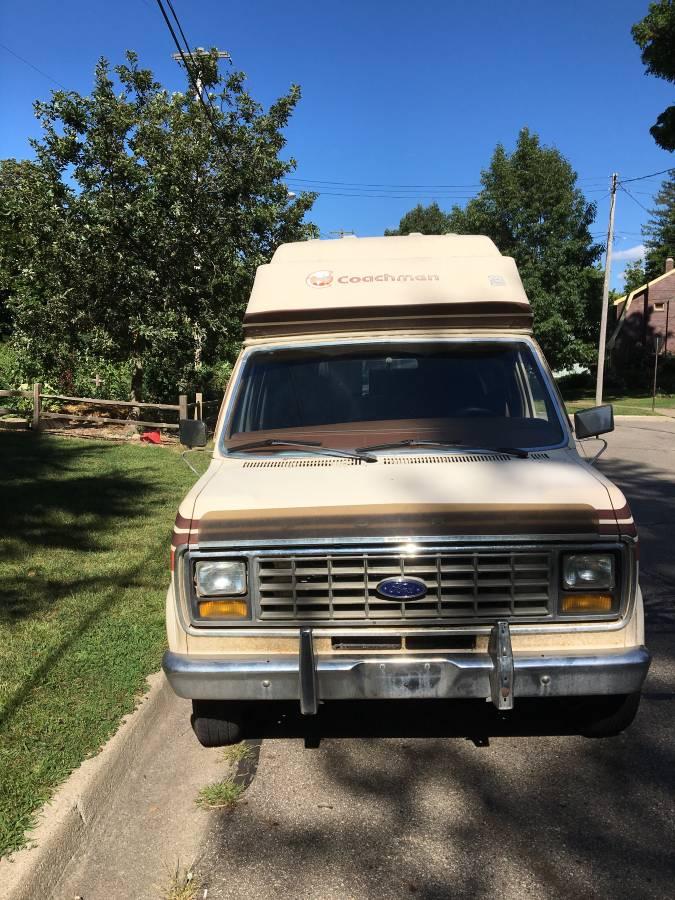 1982 Ford Coachmen V6 Auto Camper For Sale in Kalamazoo ...