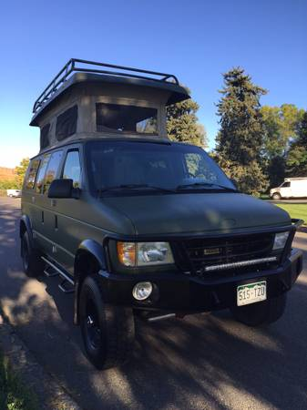 2002 Ford Sportsmobile Camper For Sale in Jackson, Wyoming