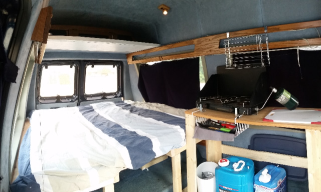 1992 Ford E150 Conversion Camper Van For Sale In Banff Ab