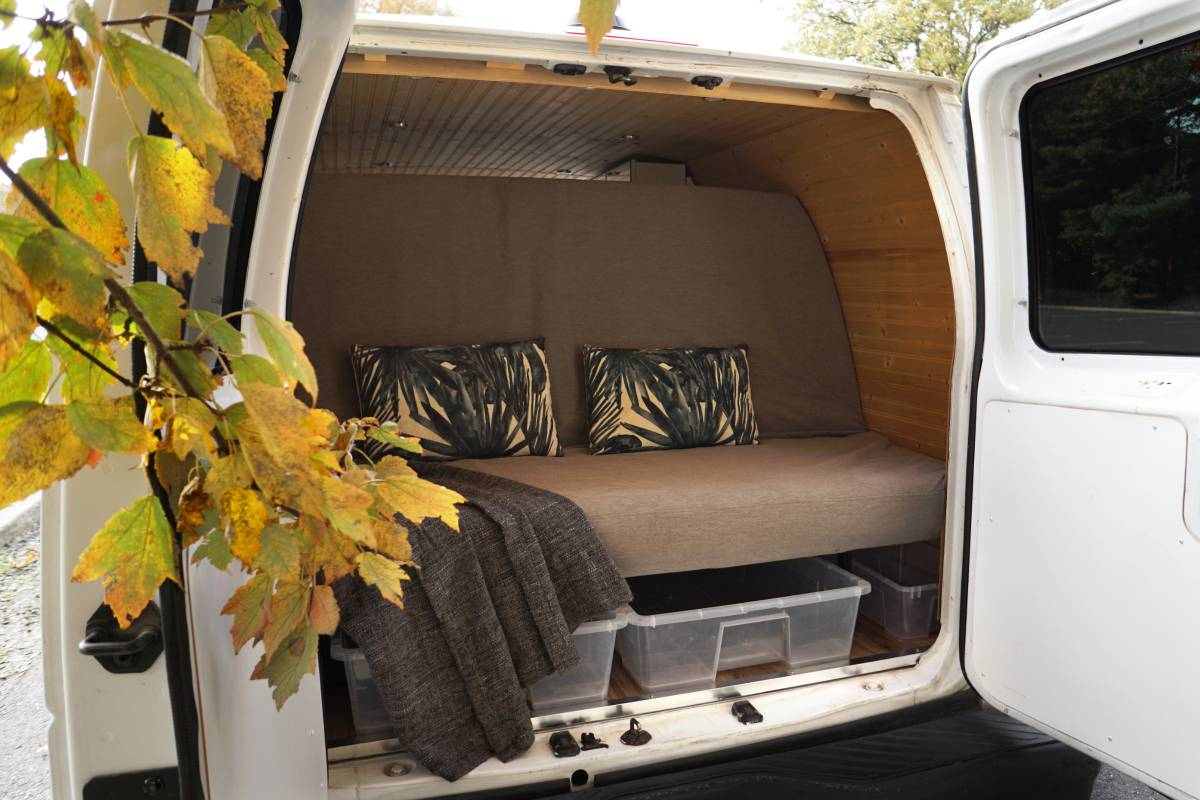 2007 Ford E350 (Extended) Stealth Camper Van For Sale in ...
