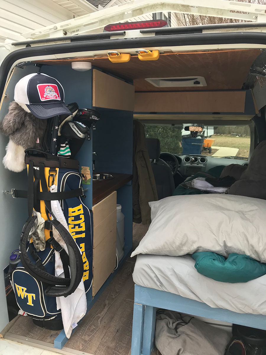2013 Ford Transit Connect Camper Conversion For Sale In