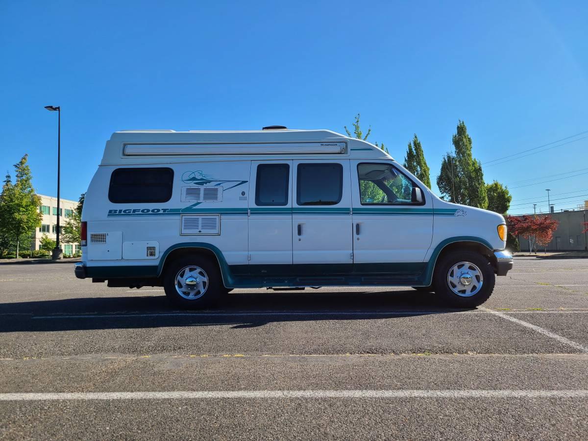 1996 Ford E350 Bigfoot Camper For Sale in Portland, Oregon