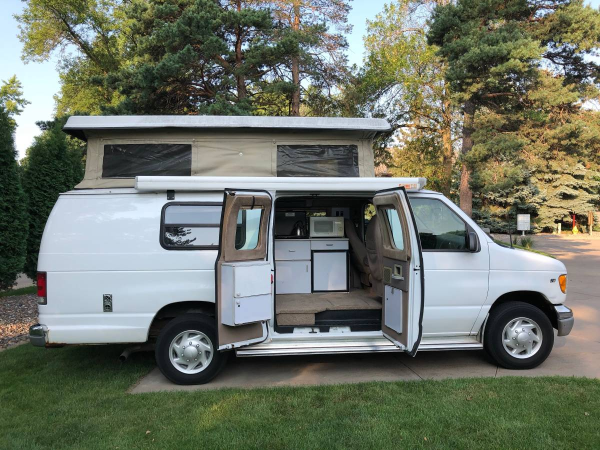 2001 Ford E250 Sportsmobile Camper For Sale in Twin Cities ...