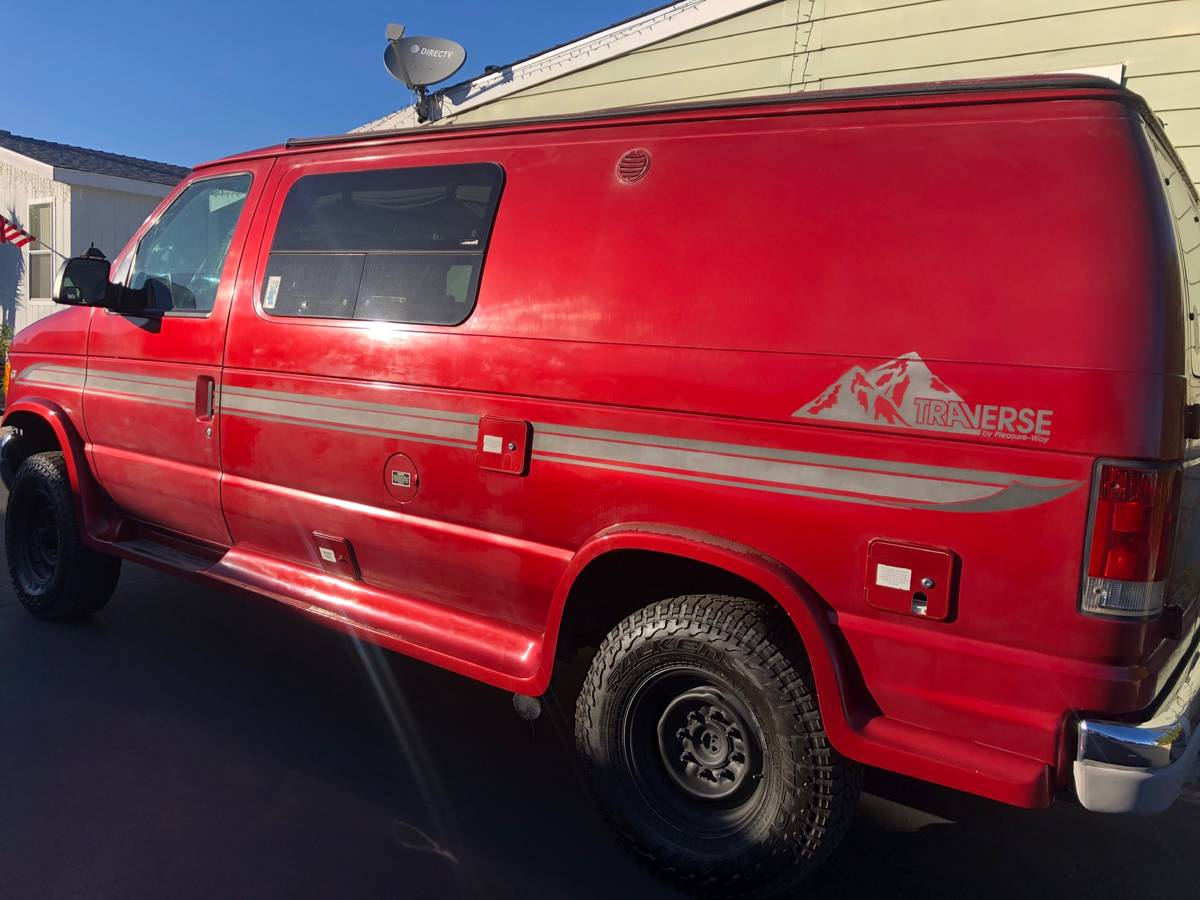 2002 Ford Pleasure Way Camper For Sale in San Marcos ...